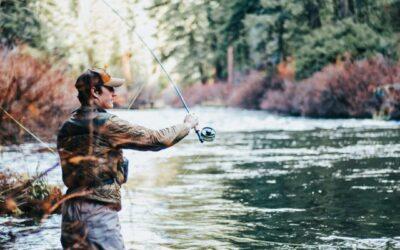 Pêche dans les endroits encombrés