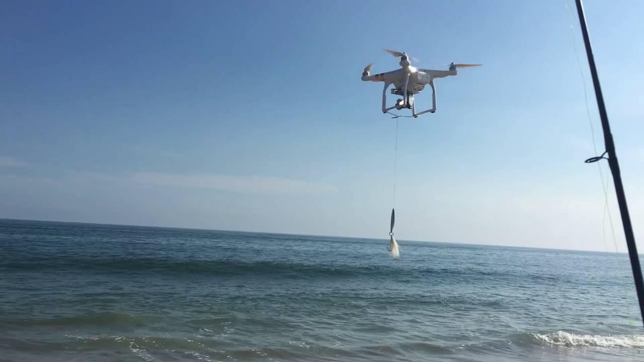 drone de pêche